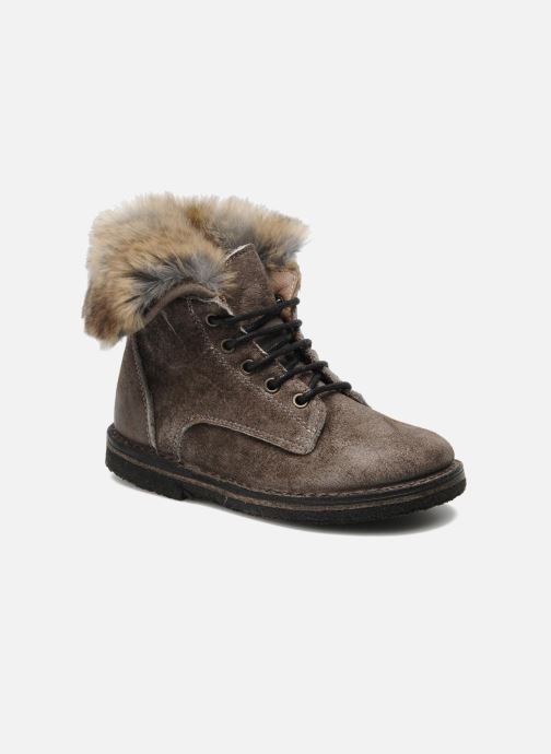 Ankle boots PèPè S1807 Grey detailed view/ Pair view
