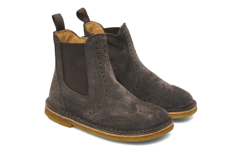 Bottines et boots PèPè 2039 Gris vue 3/4