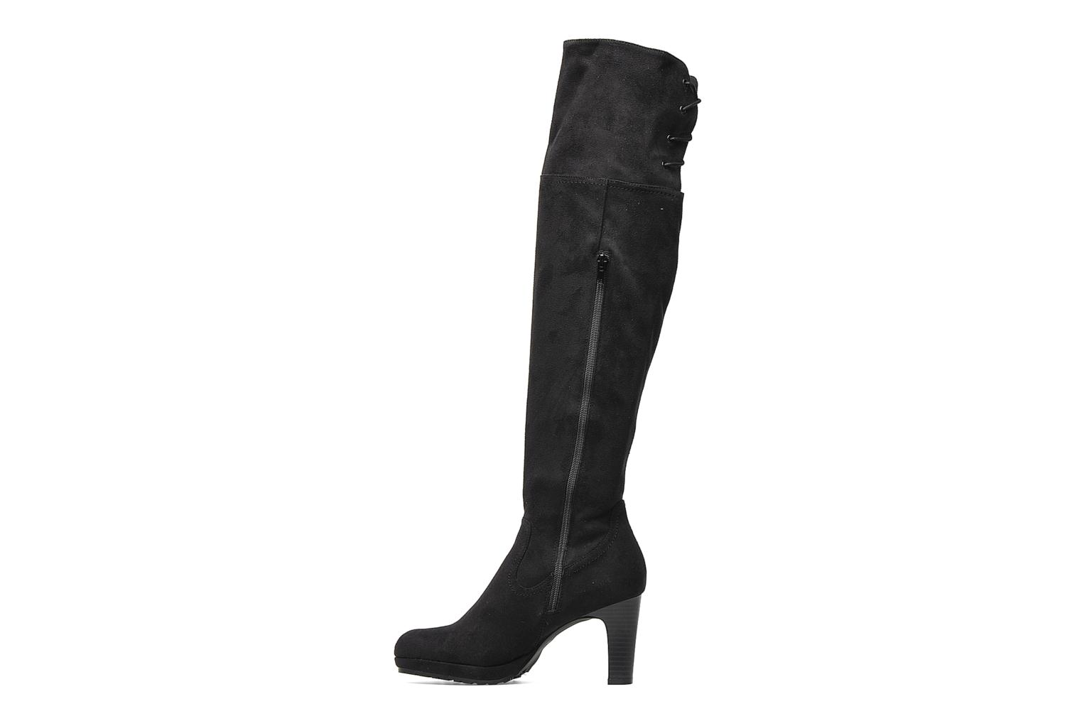 Boots & wellies Georgia Rose Kristolyn stretch Black front view