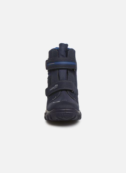 Bottes Superfit HUSKY GTX Bleu vue portées chaussures