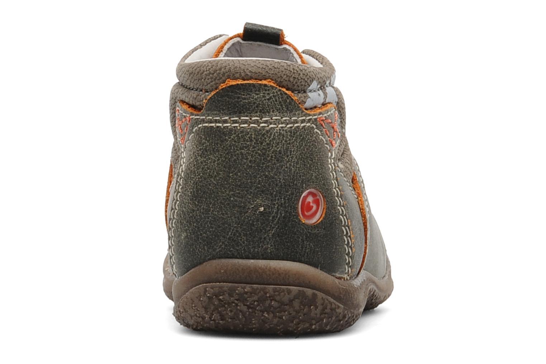 Bottines et boots GBB Dany Gris vue droite