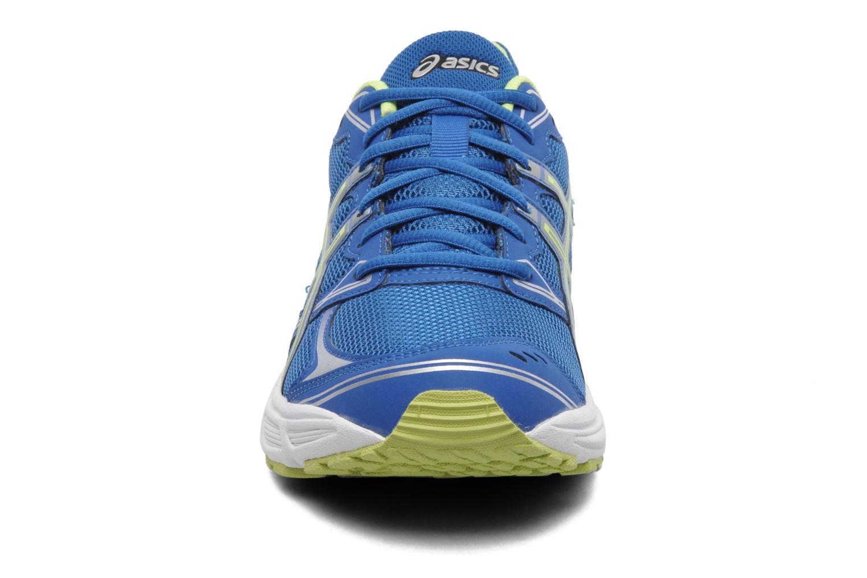 Chaussures de sport Asics Patriot 6 Bleu vue portées chaussures