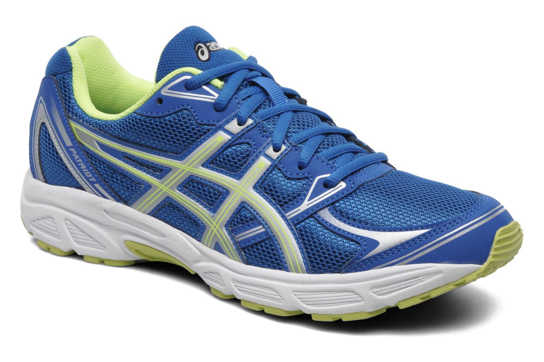 Chaussures de sport Asics Patriot 6 Bleu vue détail/paire
