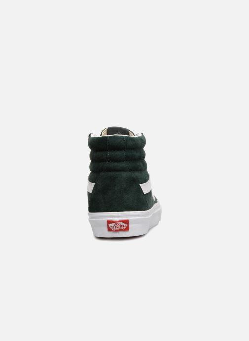 Sneakers Vans Sk8-Hi Reissue Groen rechts