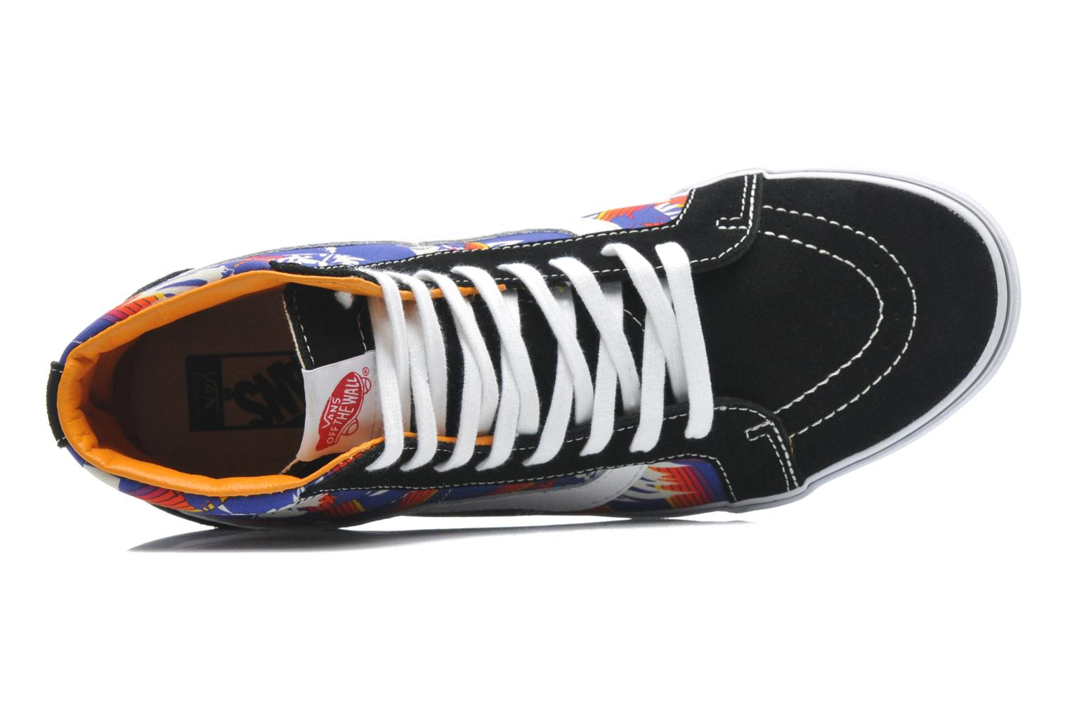 Trainers Vans Sk8-Hi Reissue Multicolor view from the left