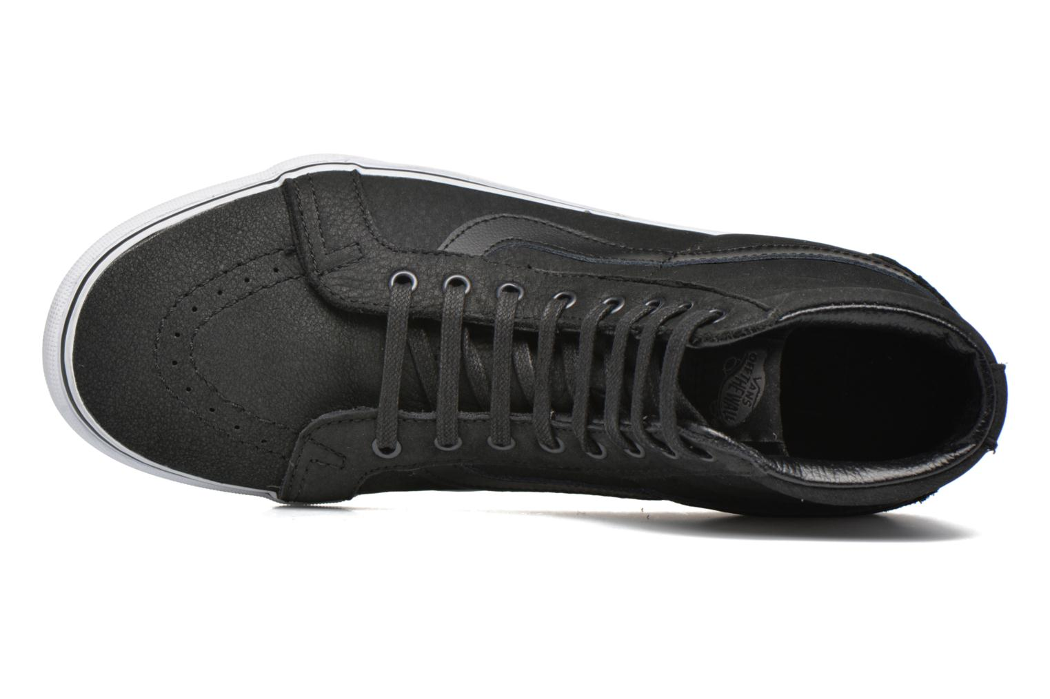 Trainers Vans Sk8-Hi Reissue Black view from the left