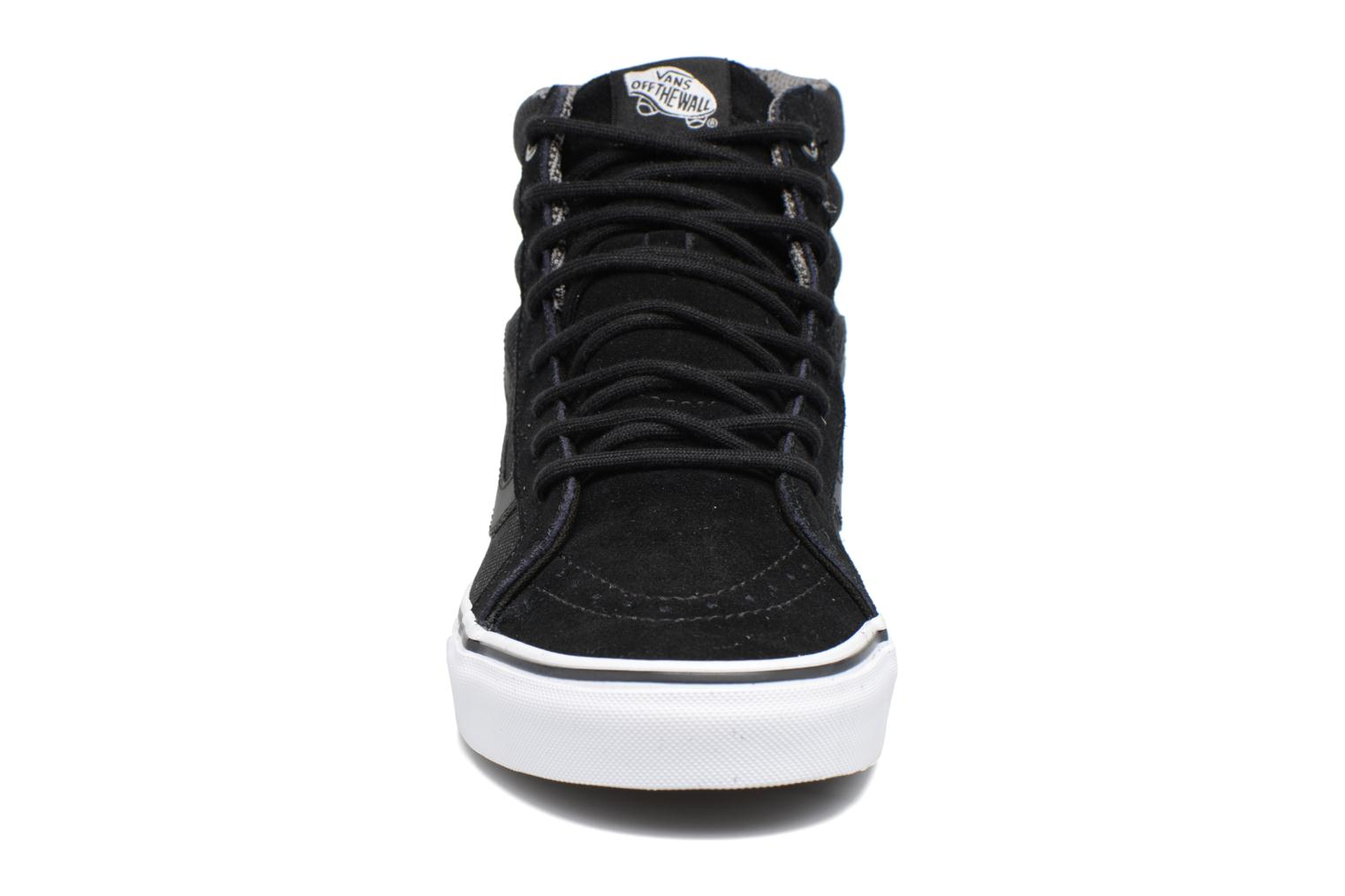 Trainers Vans Sk8-Hi Reissue Black model view