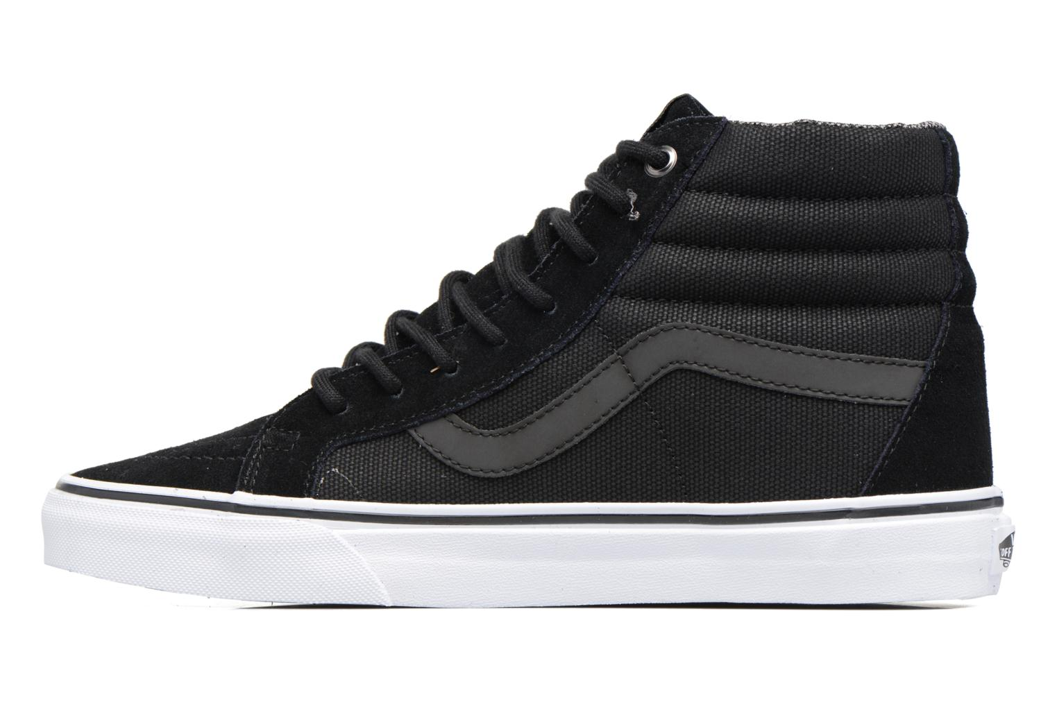 Trainers Vans Sk8-Hi Reissue Black front view
