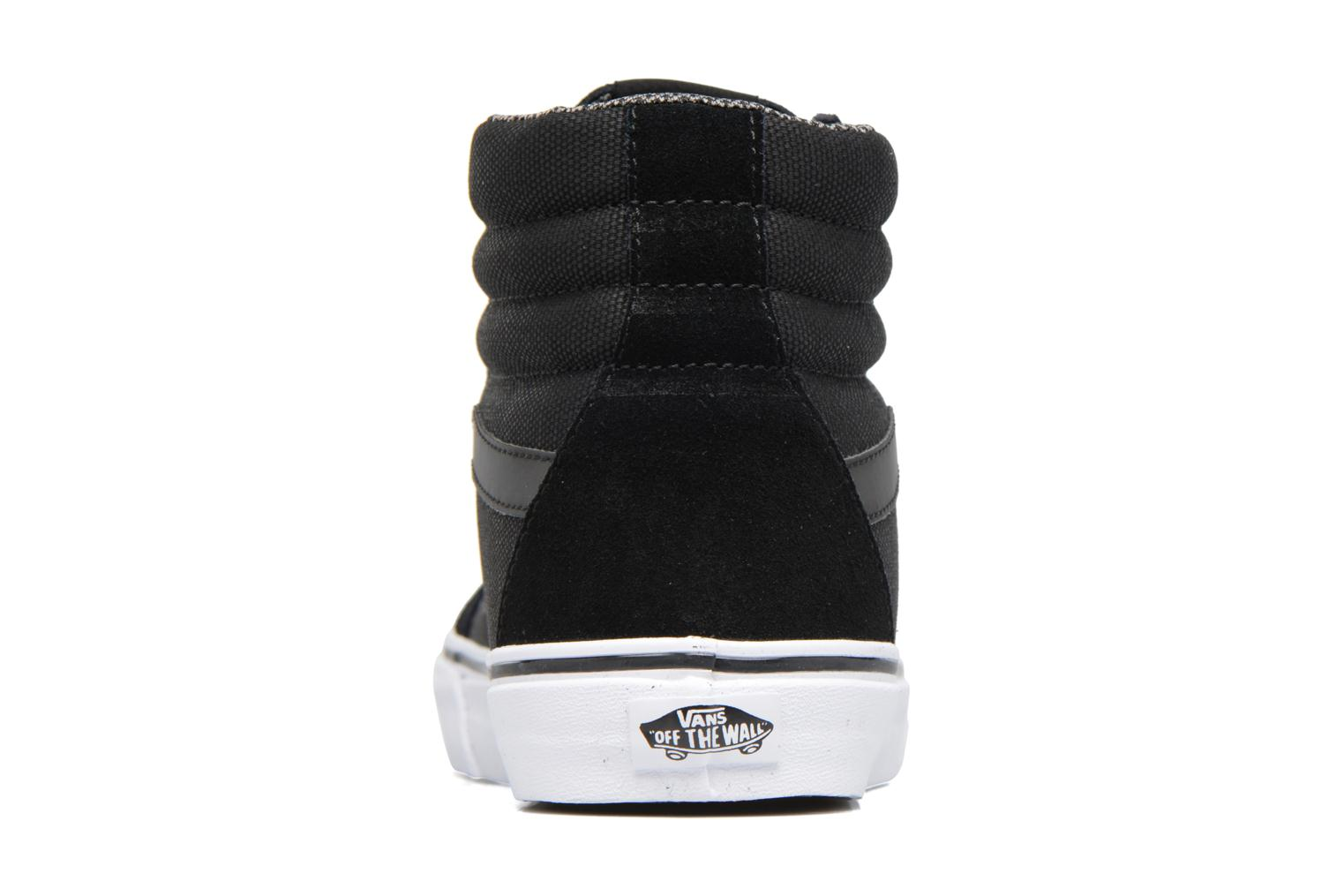 Trainers Vans Sk8-Hi Reissue Black view from the right
