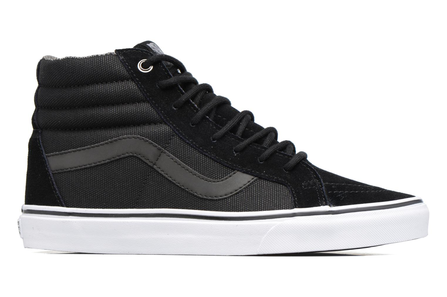Trainers Vans Sk8-Hi Reissue Black back view