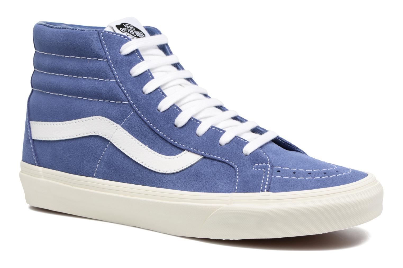 Sneakers Vans Sk8-Hi Reissue Blå detaljerad bild på paret