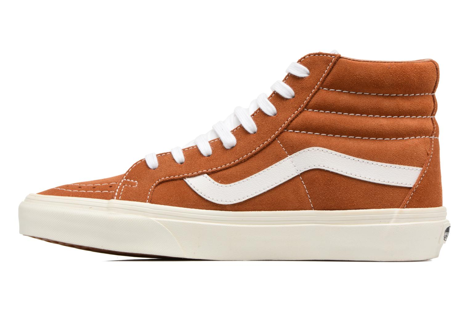 Trainers Vans Sk8-Hi Reissue Brown front view