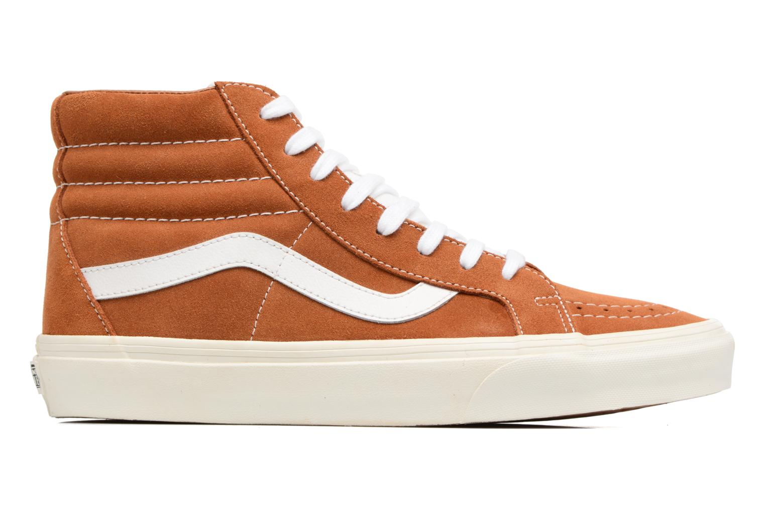 Trainers Vans Sk8-Hi Reissue Brown back view