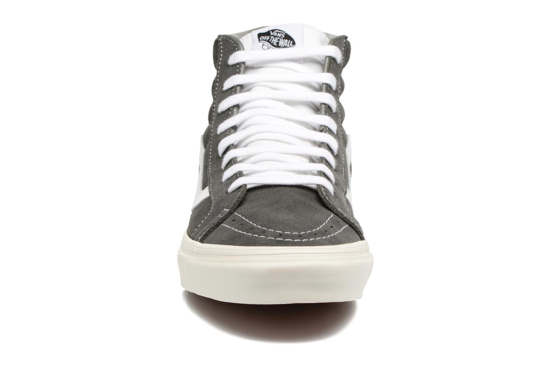 Baskets Vans Sk8-Hi Reissue Gris vue portées chaussures