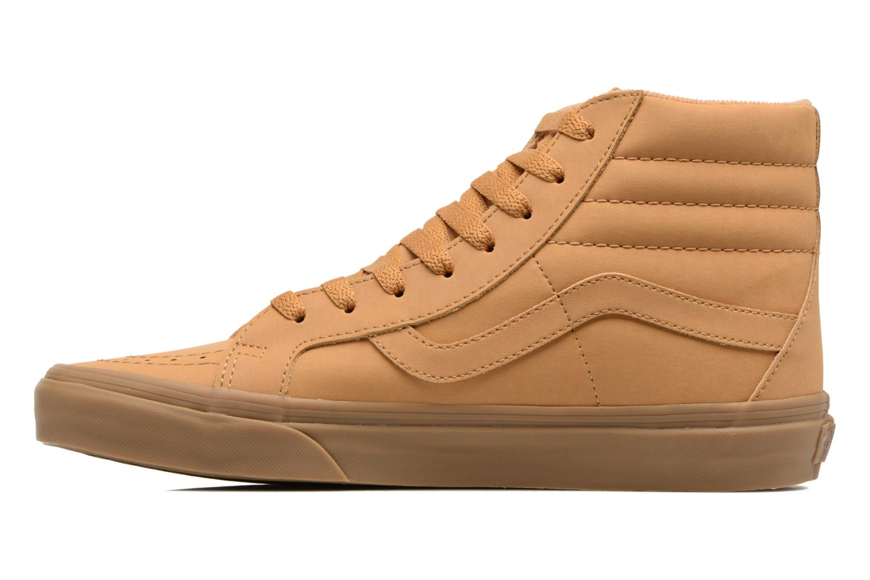 Sneaker Vans Sk8-Hi Reissue beige ansicht von vorne