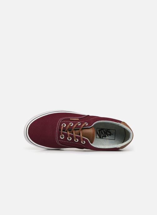 Sneaker Vans Era 59 W weinrot ansicht von links