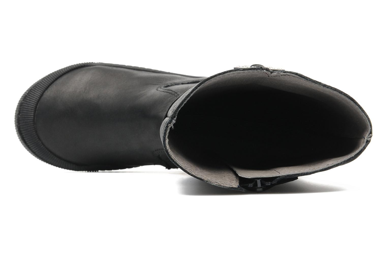 Botas Mod8 Sebat Etoile Negro vista lateral izquierda