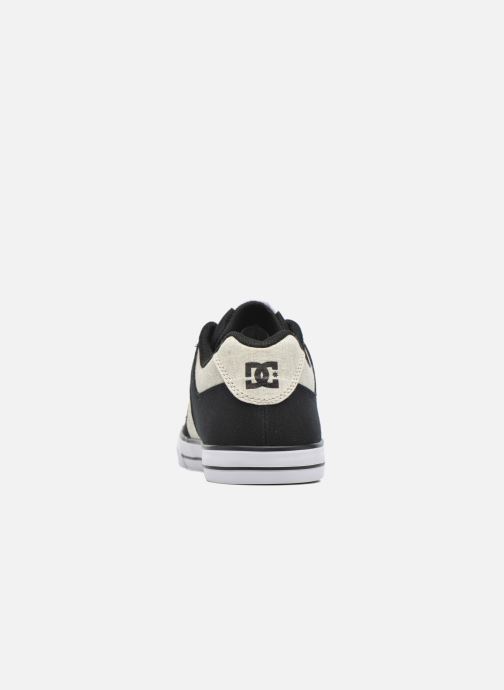 Baskets DC Shoes PURE B Noir vue haut
