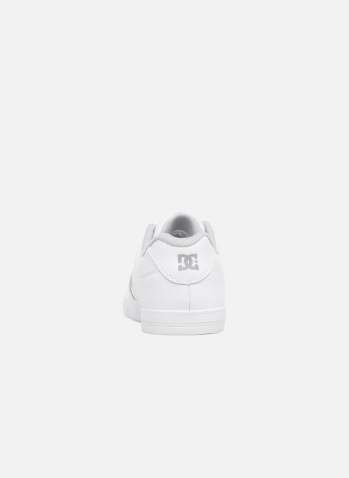 Baskets DC Shoes PURE B Blanc vue droite