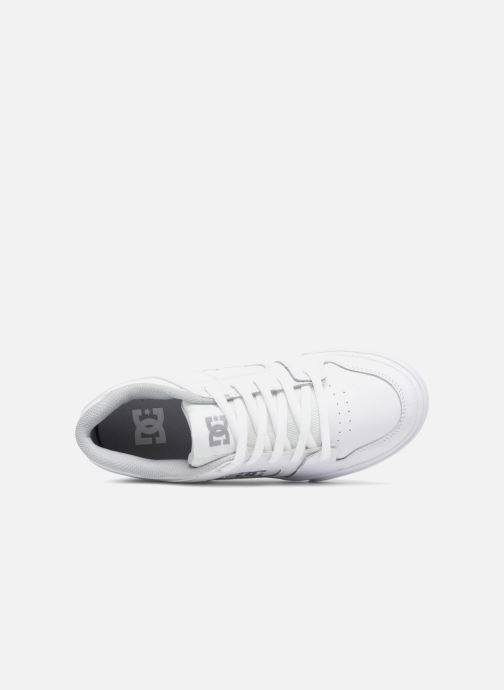 Baskets DC Shoes PURE B Blanc vue gauche
