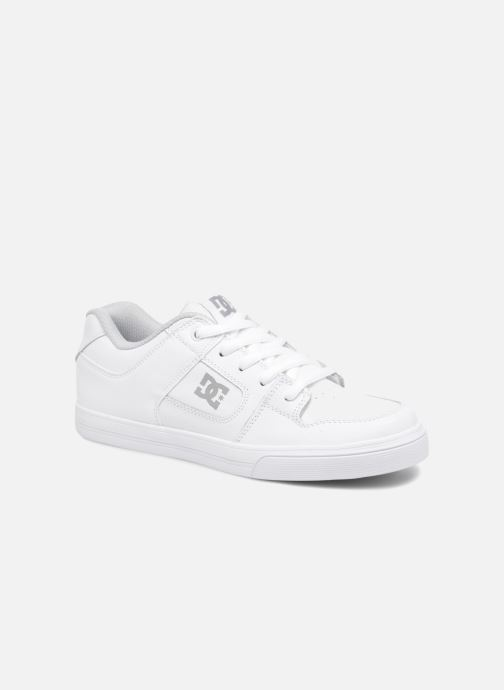 Baskets DC Shoes PURE B Blanc vue détail/paire