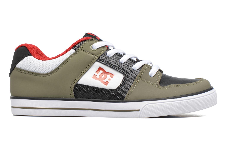 Baskets DC Shoes PURE B Vert vue derrière