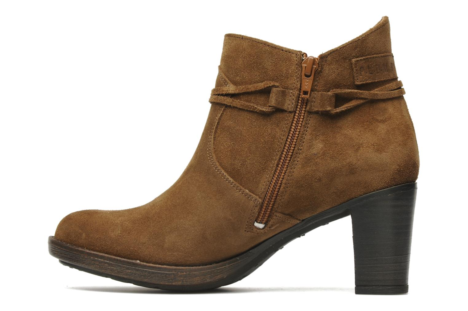 Bottines et boots P-L-D-M By Palladium Siskin Sud Marron vue face