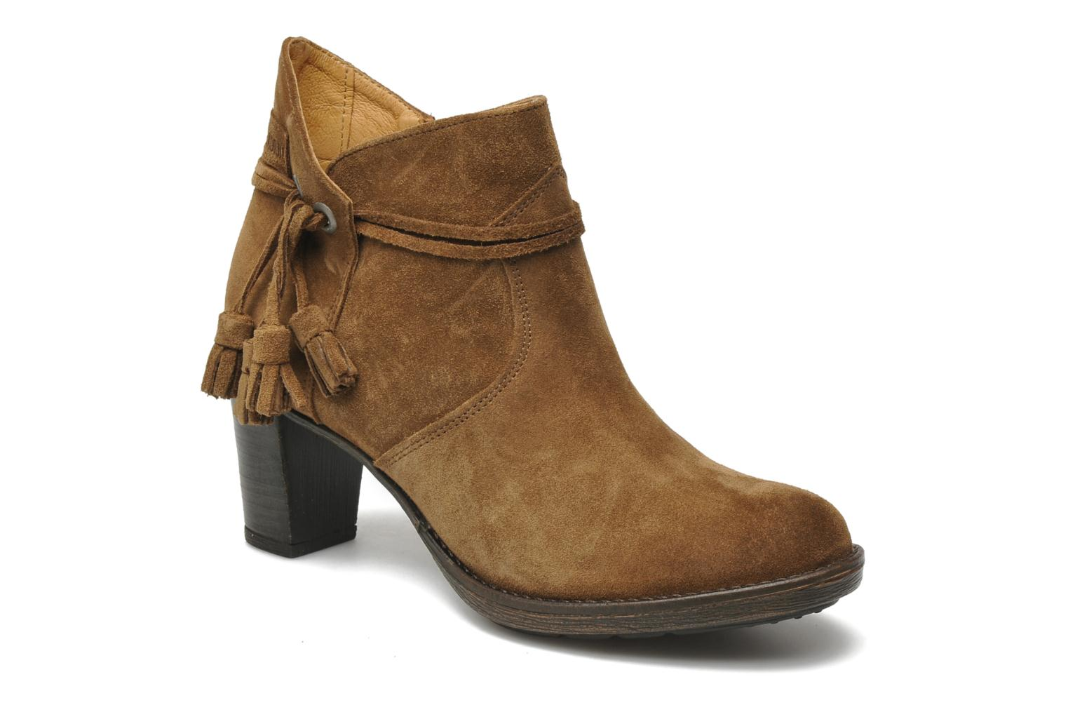 Bottines et boots P-L-D-M By Palladium Siskin Sud Marron vue détail/paire