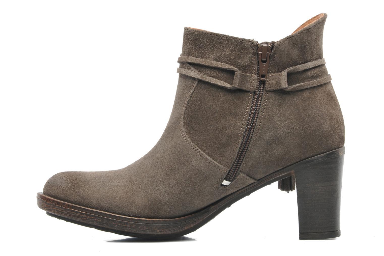 Bottines et boots P-L-D-M By Palladium Siskin Sud Gris vue face