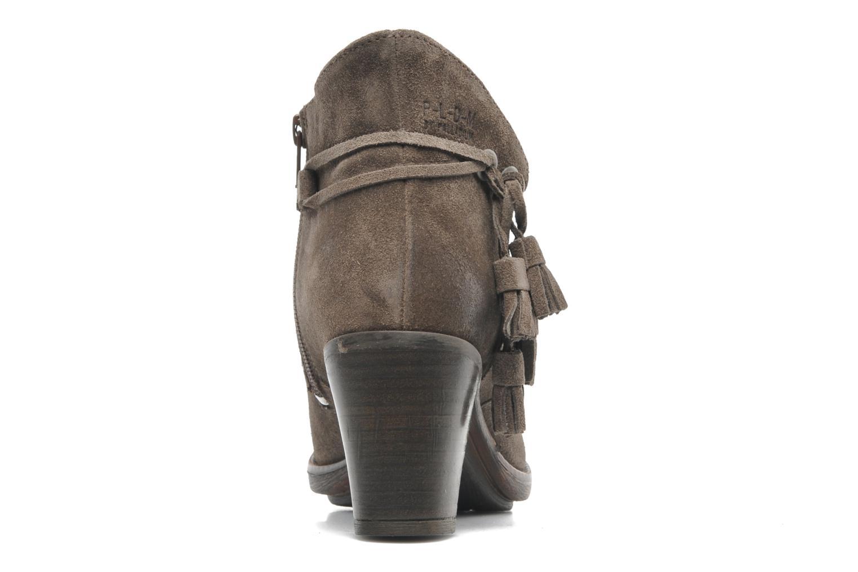 Bottines et boots P-L-D-M By Palladium Siskin Sud Gris vue droite