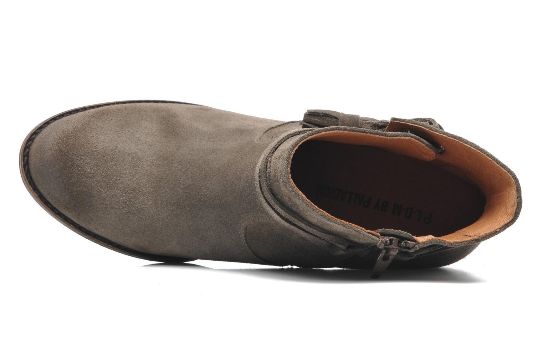 Bottines et boots P-L-D-M By Palladium Siskin Sud Gris vue gauche