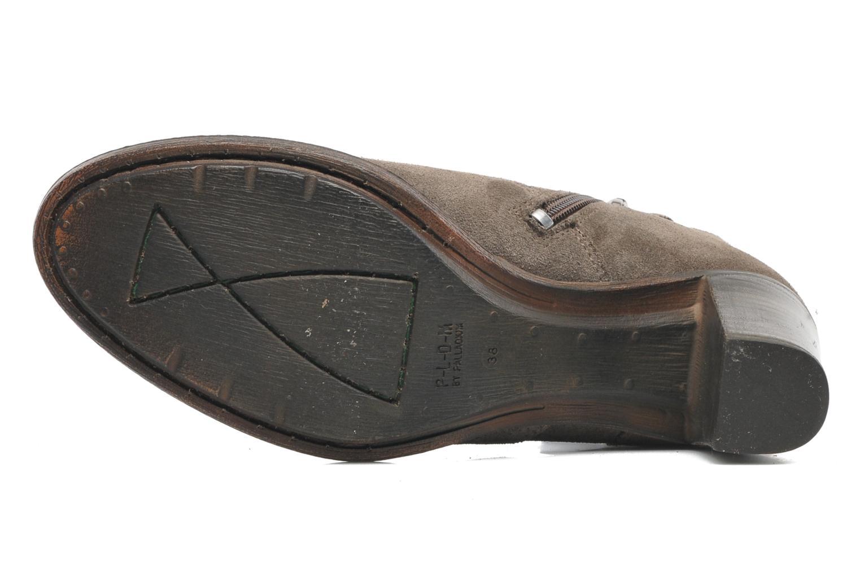 Bottines et boots P-L-D-M By Palladium Siskin Sud Gris vue haut