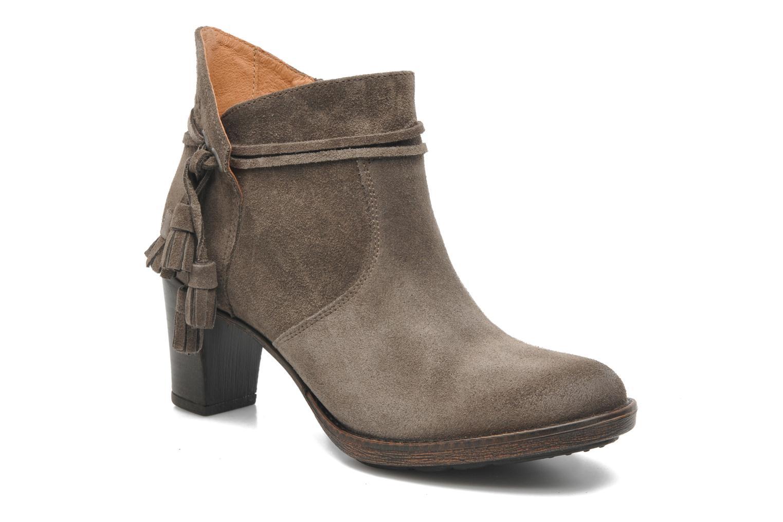 Bottines et boots P-L-D-M By Palladium Siskin Sud Gris vue détail/paire