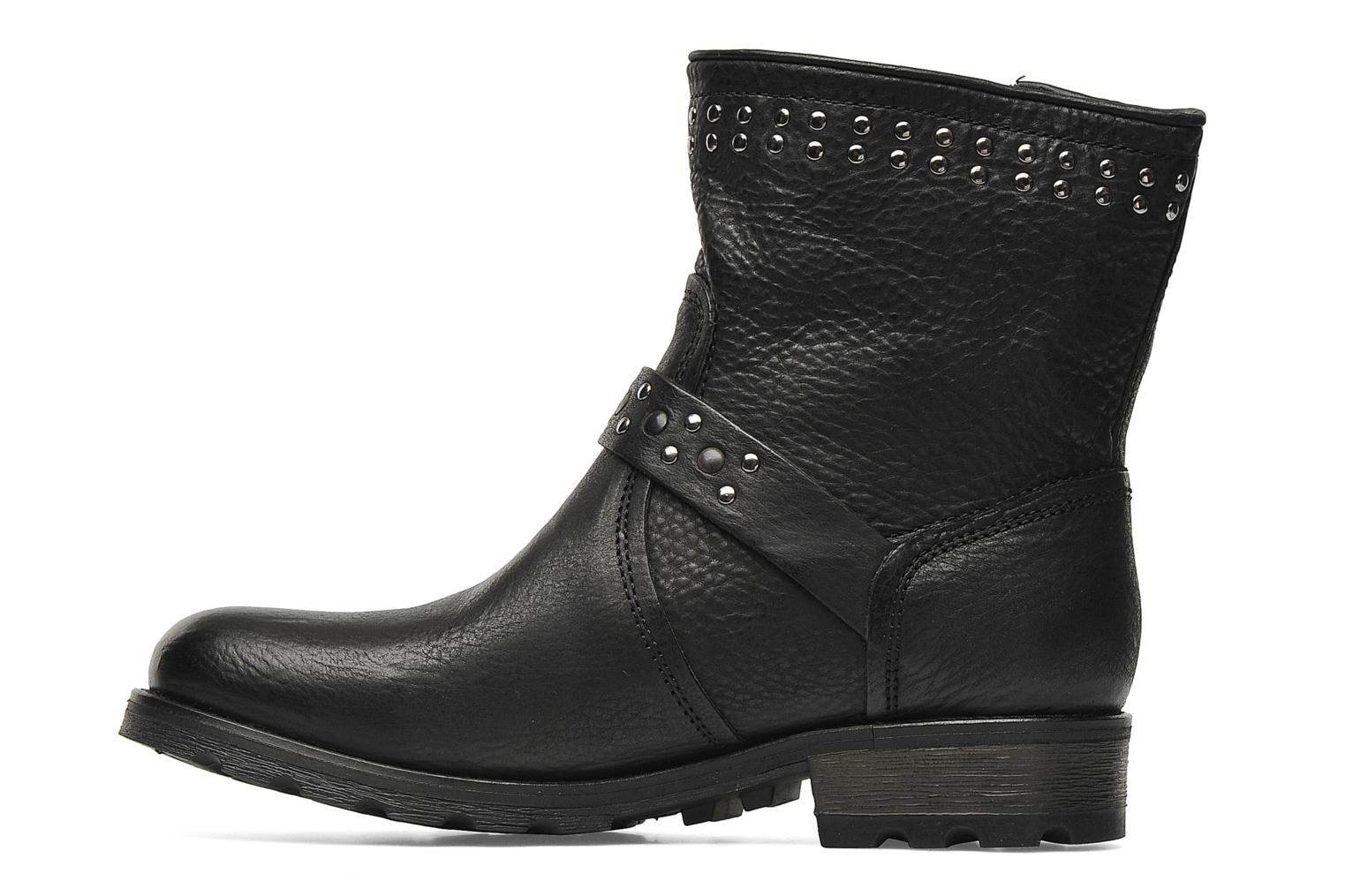 Bottines et boots P-L-D-M By Palladium Upcast Stud Noir vue face