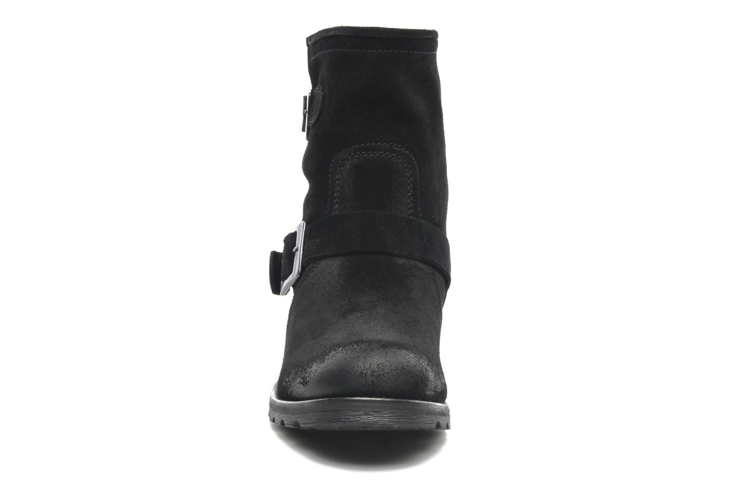 Ankle boots P-L-D-M By Palladium Upcast Sud Black model view