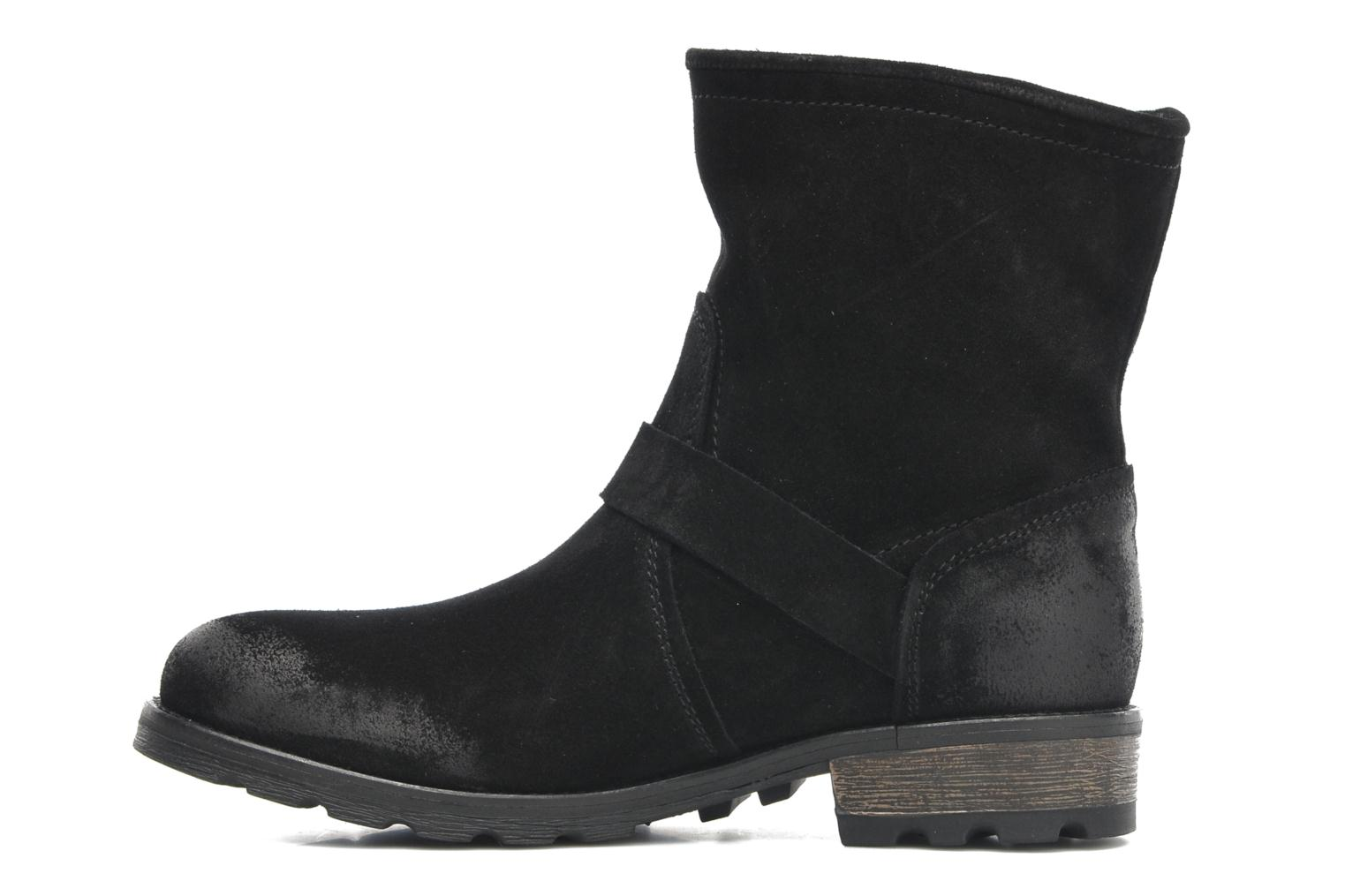 Ankle boots P-L-D-M By Palladium Upcast Sud Black front view