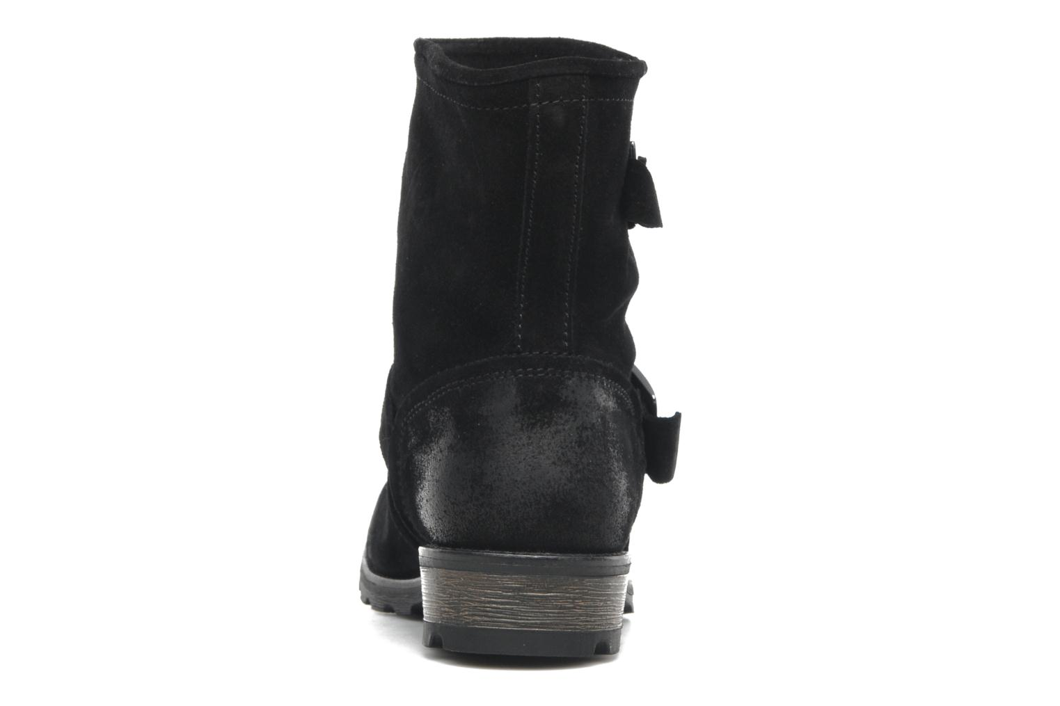 Ankle boots P-L-D-M By Palladium Upcast Sud Black view from the right
