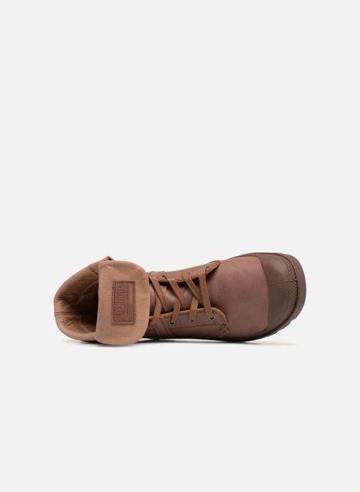 Bottines et boots Palladium Pallabrousse Baggy L2 U Marron vue gauche