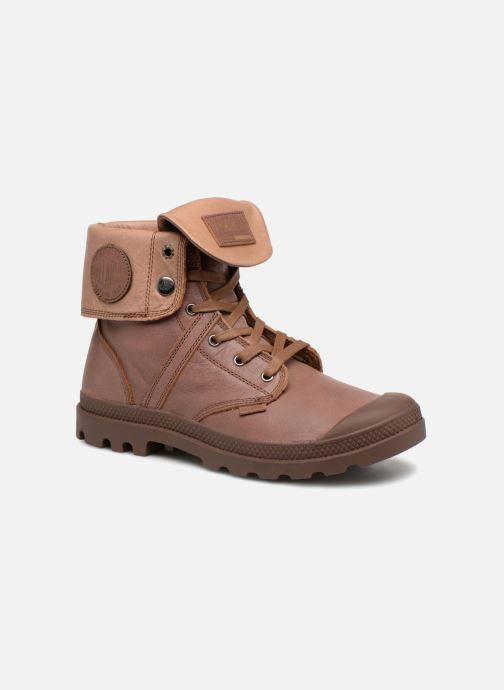 Bottines et boots Palladium Pallabrousse Baggy L2 U Marron vue détail/paire