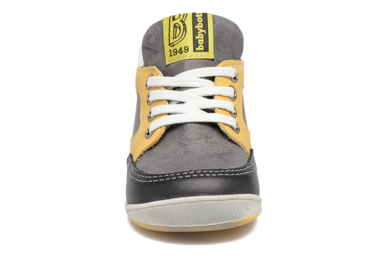 Bottines et boots Babybotte Foxy Gris vue portées chaussures