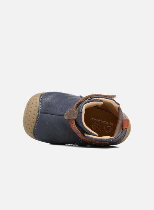 Chaussures à scratch Babybotte ZAK Bleu vue gauche