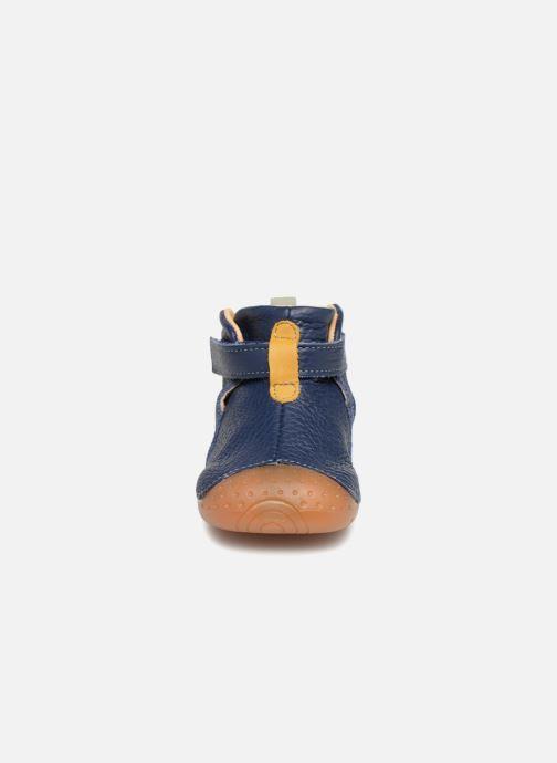Skor med kardborrband Babybotte ZAK Blå bild av skorna på