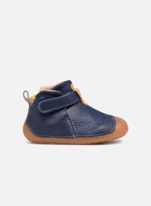 Zapatos con velcro Babybotte ZAK Azul vistra trasera
