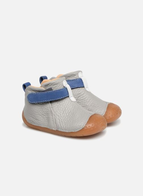 Sko med velcro Babybotte ZAK Grå detaljeret billede af skoene