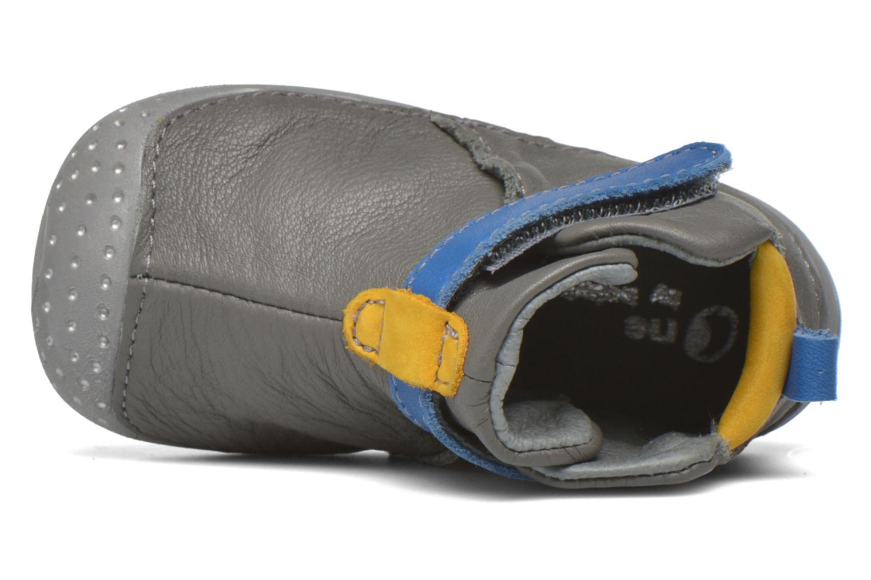 Chaussures à scratch Babybotte ZAK Gris vue gauche