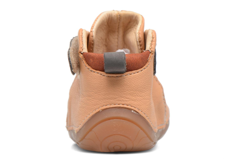 Chaussures à scratch Babybotte ZAK Jaune vue droite