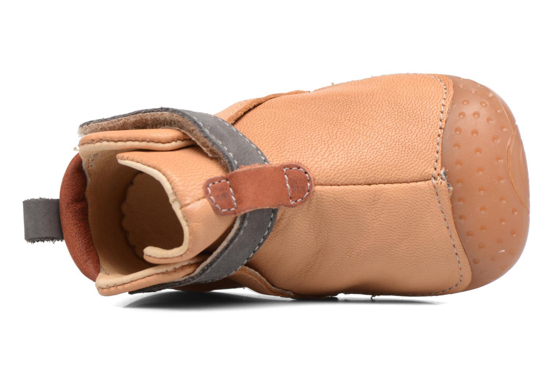 Chaussures à scratch Babybotte ZAK Jaune vue gauche