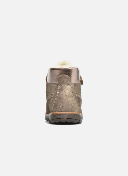 Ankle boots Primigi ASPY 1 Bronze and Gold view from the right