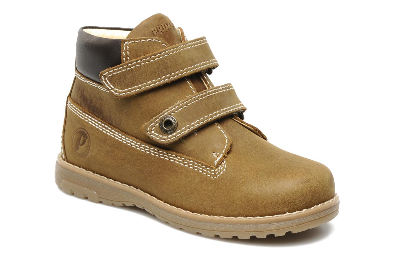 Ankle boots Primigi ASPY 1 Brown detailed view/ Pair view