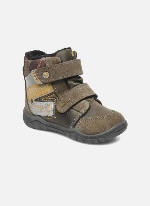Ankle boots Primigi MIRCO-E Brown detailed view/ Pair view